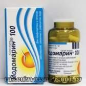 Йодомарин - інструкція, застосування, аналоги, дозування