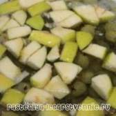 Компот з яблук і агрусу на зиму, рецепт
