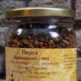Перга бджолина: застосування, цілющі властивості