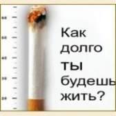 Шкода тютюнопаління на організм людини