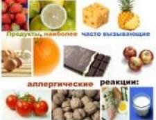 Гіпоалергенна дієта: продукти що можна їсти