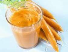 Лікувальні властивості морквяного соку
