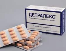 Ліки детралекс: інструкція до застосування