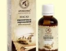 Масло пшеничних зародків для обличчя, волосся, застосування