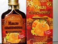 Гарбузова олія властивості, користь