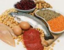 У яких продуктах харчування міститься білок?